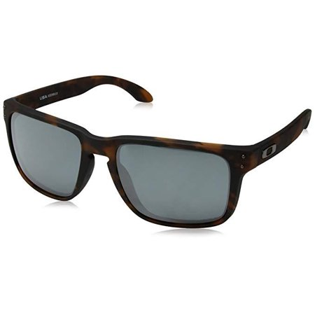 Oakley Holbrook XL Matte Brown Tortoise w/ PRIZM Black Sunglasses (Oakley Holbrook Sonnenbrille-matte Black)