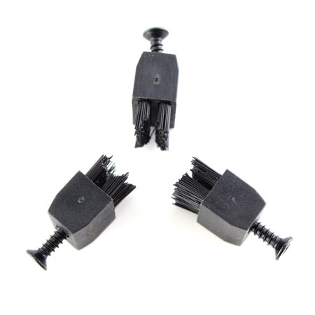 3pcs Arrow Rest Replacement Bow Brush with Screw for Compound Bow thumbnail