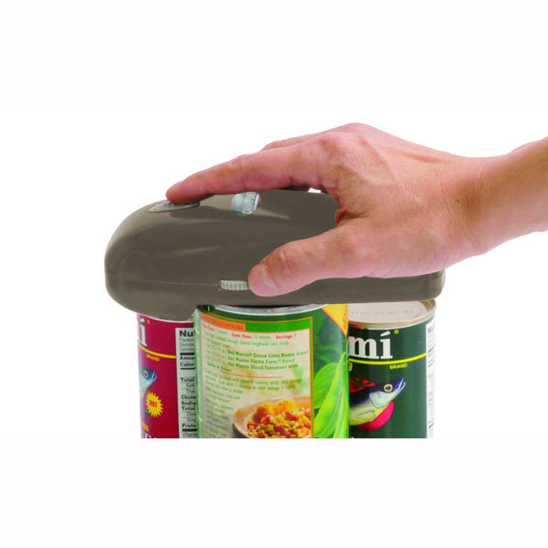 As Seen On TV Handy Can Opener - Gray, Cordless Battery One Touch