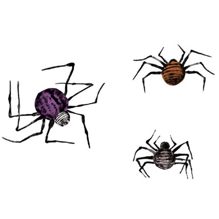 Darice Martha Stewart Crafts Paper Silhouettes Spiders - Paper Crafts For Halloween