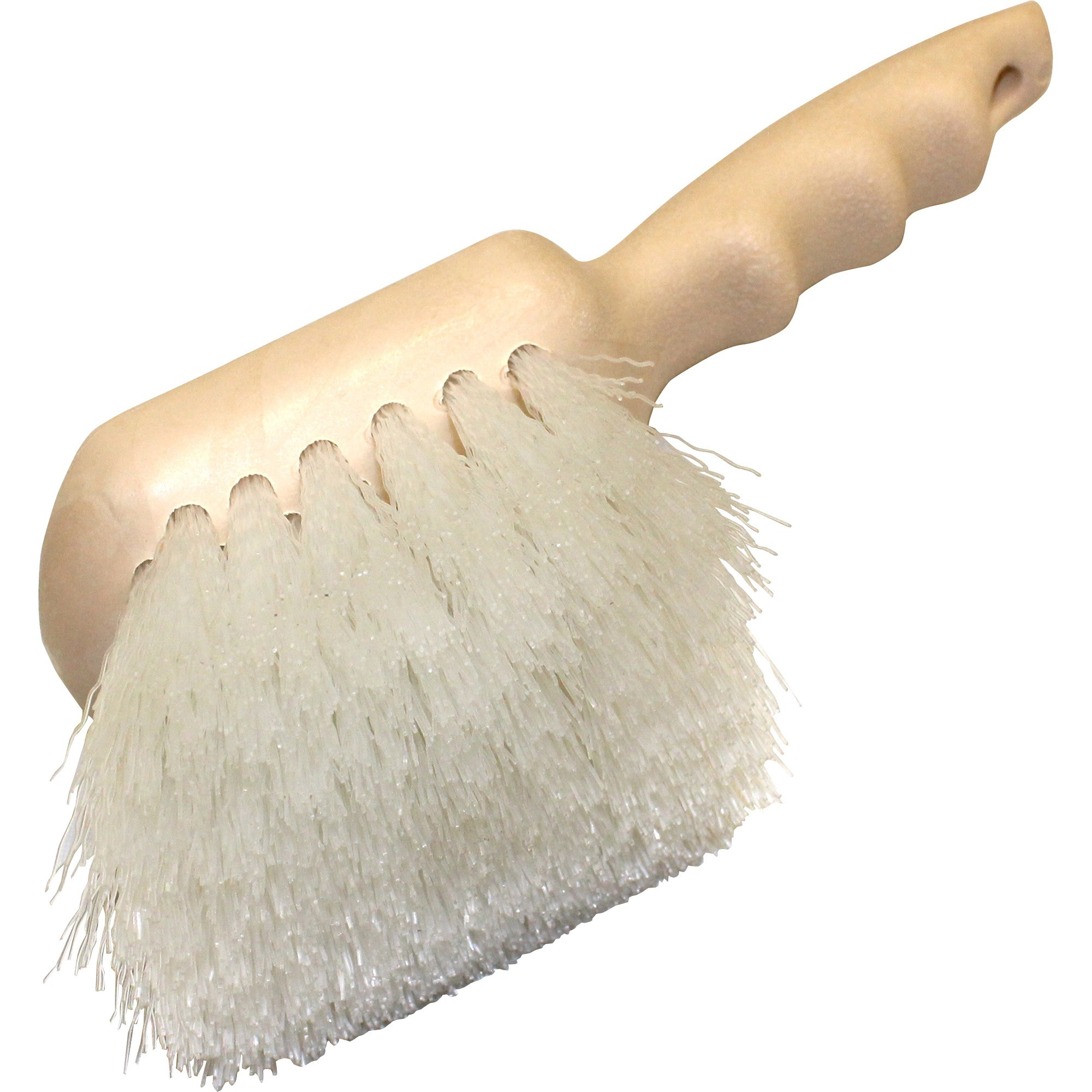 "Genuine Joe, GJO98215, 9"" Nylon Utility Brush, 1 Each, White"