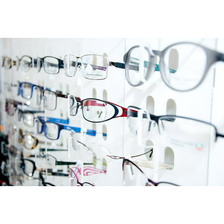 LAMINATED POSTER Specialist Display Store Eyesight Optical Eye Poster Print 24 x (Store Display Poster)