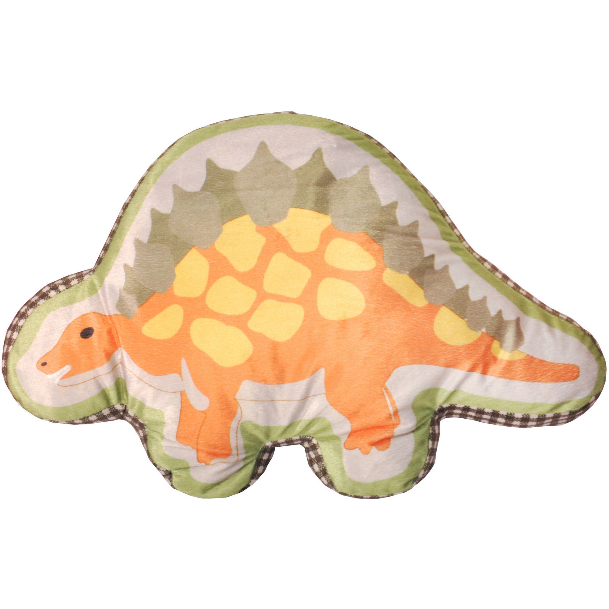Mainstays Kids Dinosaur Die Cut Pillow