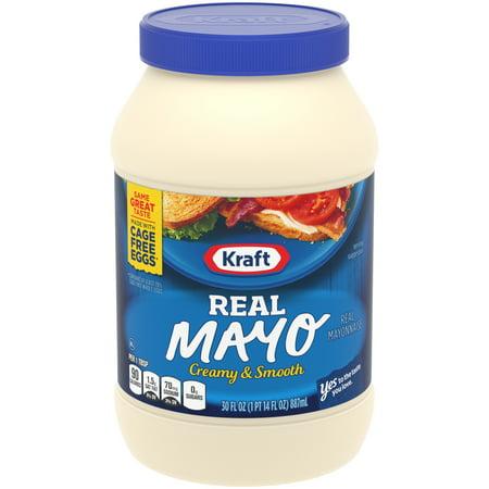 Kosher Mayonnaise - (12 Pack) Kraft Mayo Real, 30 fl oz Jar