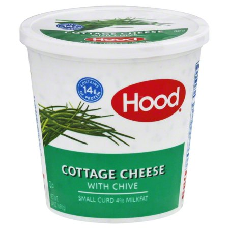 Superb Hood 4 Milk Fat With Chive Small Curd Cottage Cheese 24 Oz Home Interior And Landscaping Palasignezvosmurscom