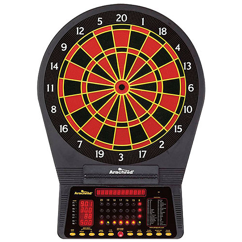 Arachnid Cricket Pro 750 Tournament Series Electronic Talking Dartboard