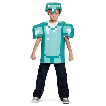 Minecraft Armor Classic Child Costume](Minecraft Costume Head)
