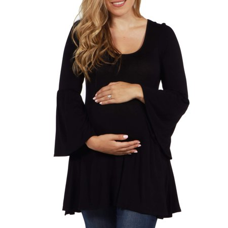 Del Mar Maternity Tunic Top -- Available in Plus Sizes - Halloween Maternity Shirts Plus Size