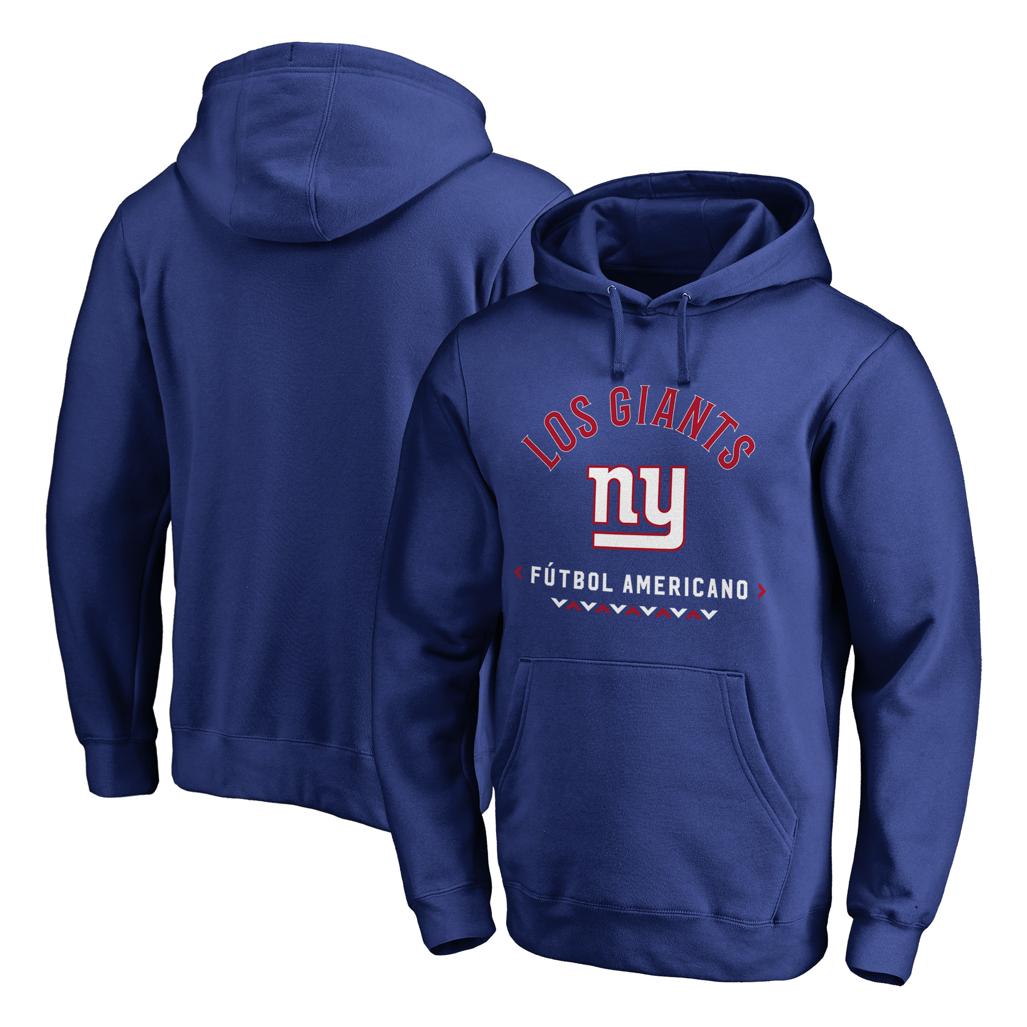 New York Giants NFL Pro Line by Fanatics Branded Futbol Americano Pullover Hoodie - Royal