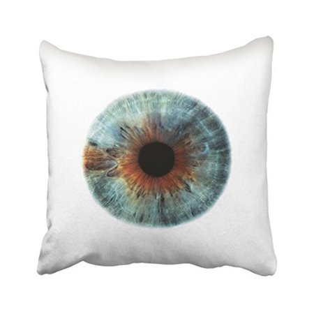 WinHome Abstract Vintage I See You Eye Halloween Pattern Polyester 18 x 18 Inch Square Throw Pillow Covers With Hidden Zipper Home Sofa Cushion Decorative Pillowcases 18 Inch See Through Log