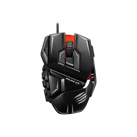 Mad Catz M.M.O. TE - Mouse - laser - 20 buttons - wired - USB - gloss