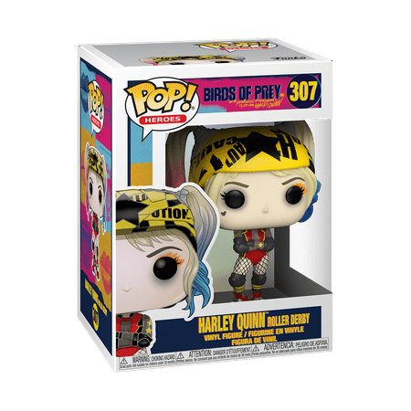 Funko POP! Heroes: Birds of Prey - Harley Quinn Roller Derby