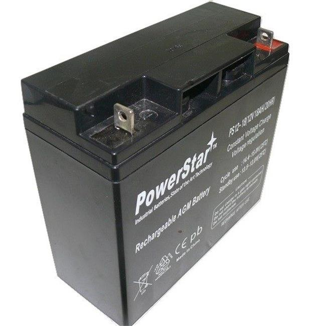 PowerStar PS12-18-90 12V 18Ah M6-T6 Audio System Black Battery Replaces Odyssey PC680
