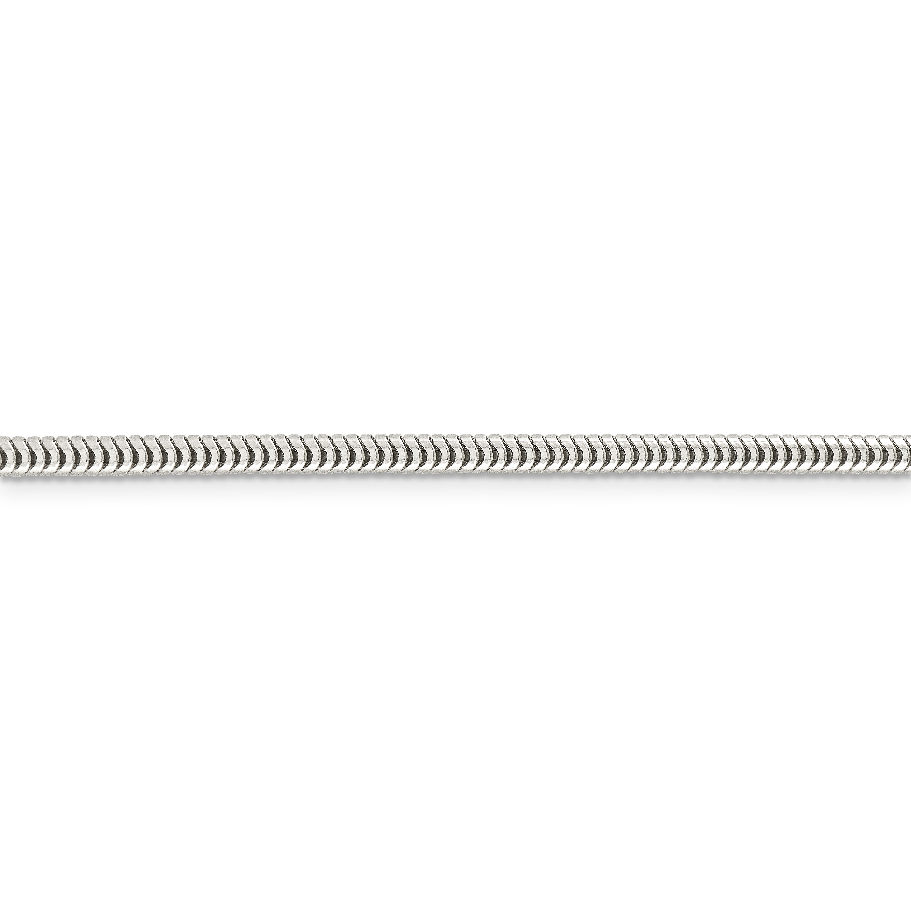 925 Sterling Silver 3mm Round Snake Chain Necklace 24 Inch Pendant Charm Fine Jewelry Gifts For Women For Her - image 1 de 5