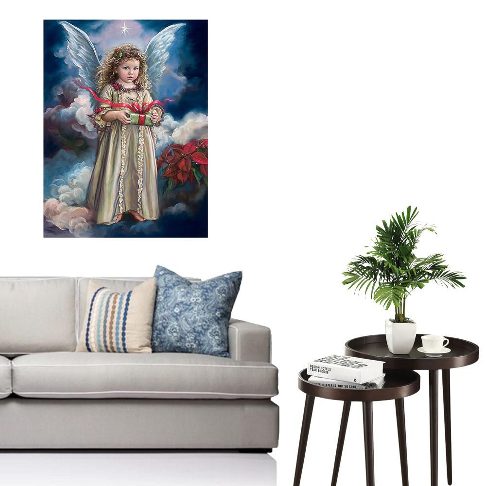 iLH Mallroom 5D Diamond Rhinestone Pasted Embroidery Painting Cross Stitch Home Decor