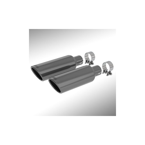 GM 19303348 Bright Black Chrome Exhaust Tip Cadillac