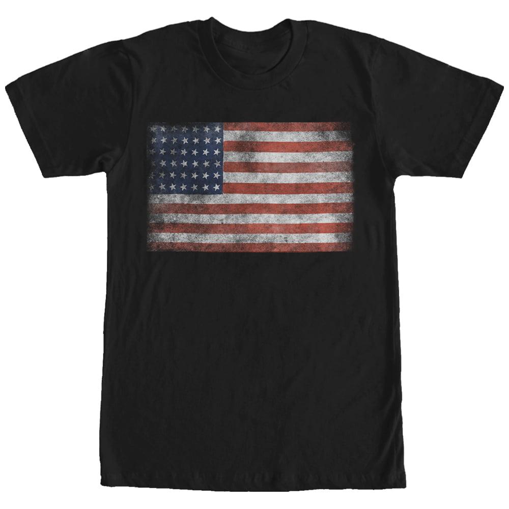 Unicorn USA Camo Patriotic Flag Mens Long Sleeve Jersey Henley