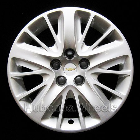 OEM Genuine Chevrolet Wheel Cover - Professionally Refinished Like New - Impala 18-inch hubcap 2014-2017