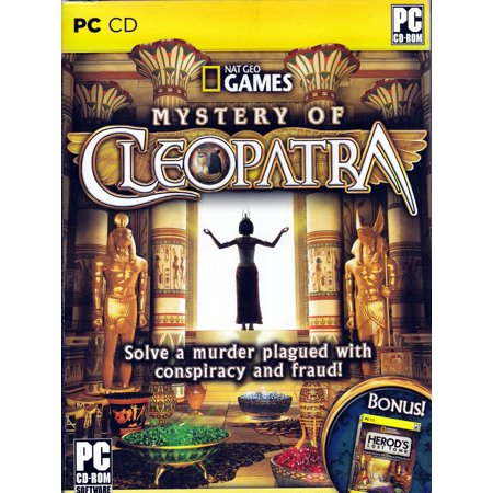 National Geographic Games: Mystery of Cleopatra & Herod's Lost