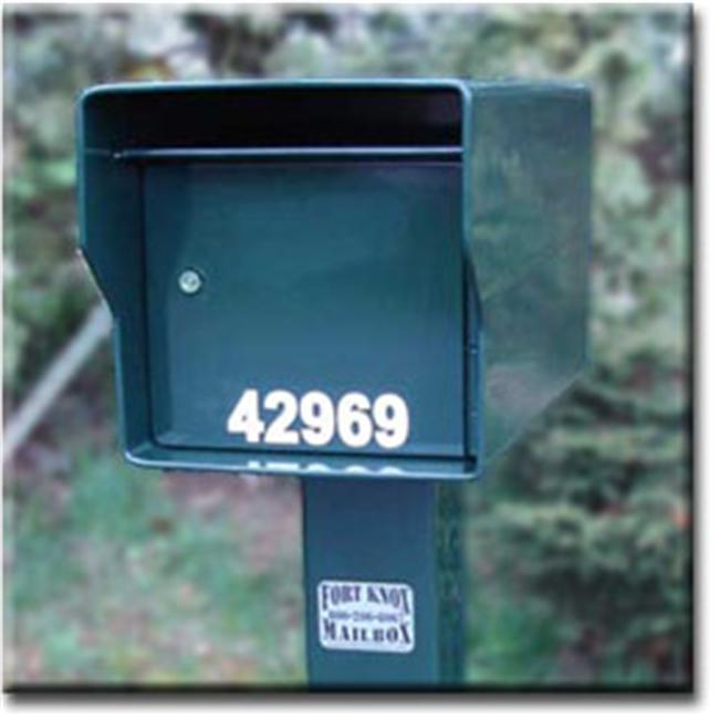 Fort Knox Mailbox SM Standard G Small Standard Mailbox Green by Fort Knox Mailbox