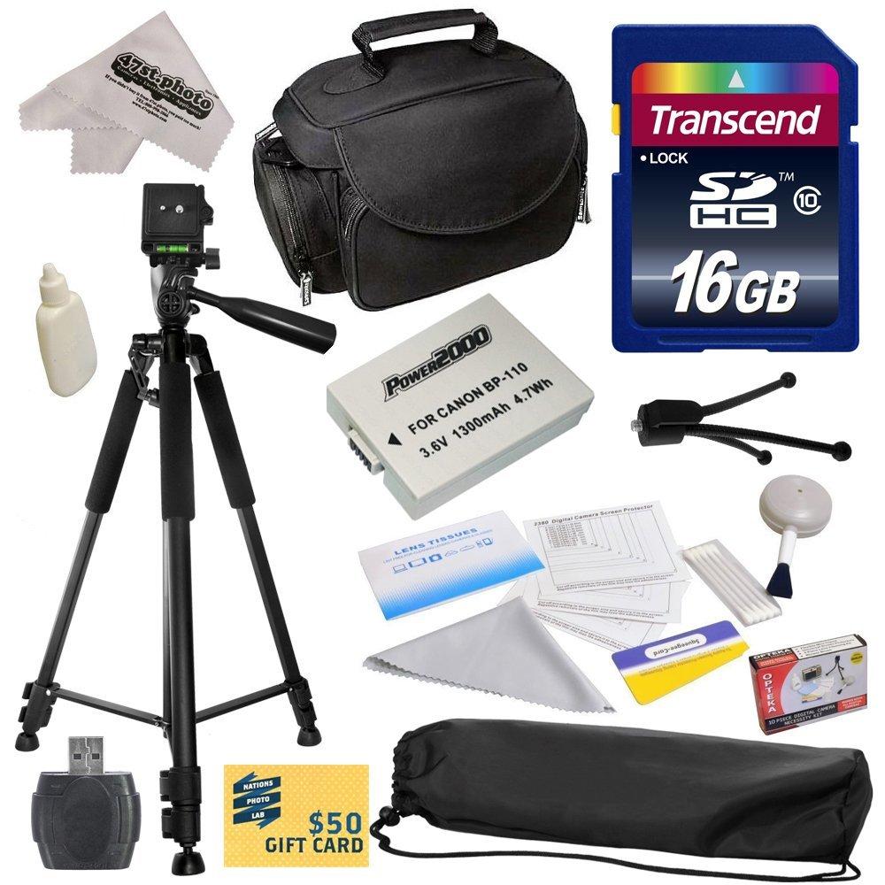 Opteka Best Value Kit for Canon HF R20 R21 R26 R27 R200 R...