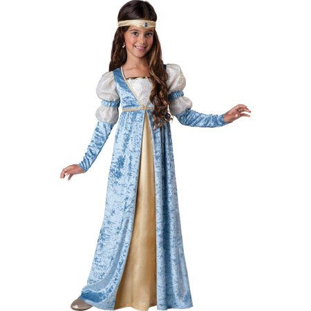 Renaissance Maiden Child Halloween Costume - Time Machine Halloween Costume