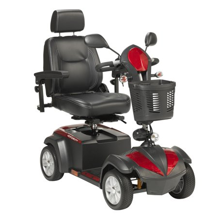 Drive Medical Ventura Power Mobility Scooter, 4 Wheel, 20