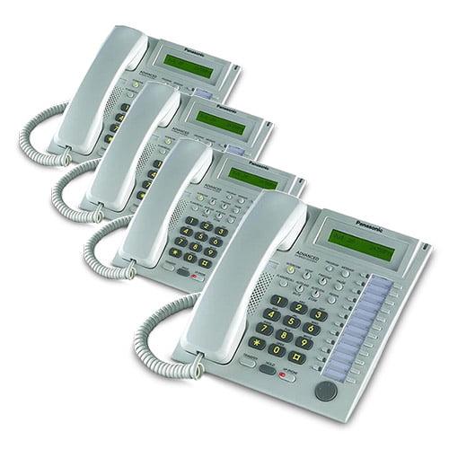 Panasonic-KX-T7731W (4 Pack) Speaker Phone Telephone With LCD by Panasonic BTS