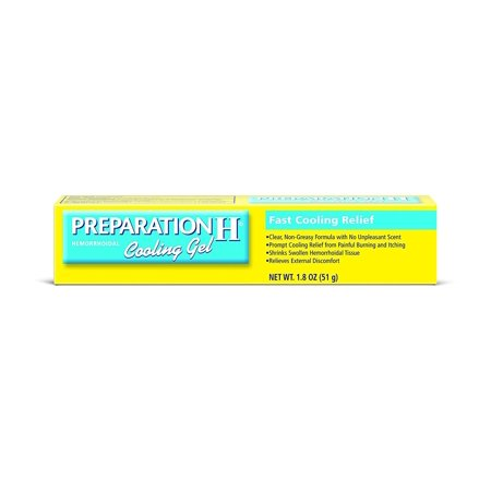 Preparation H Hemorrhoidal Cooling Gel For Fast Relief With Vitamin E And Aloe Tube (1.8 Ounce) - Food Preparation Equipment