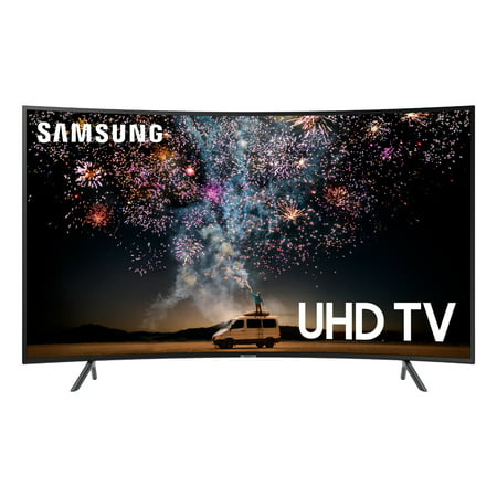 "SAMSUNG 65"" Class 4K Ultra HD (2160P) Curved HDR Smart LED TV UN65RU7300 (2019 Model)"
