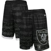 Las Vegas Raiders New Era Training Daze Shorts - Black