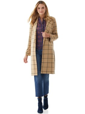 Scoop Women's Long Knit Coat