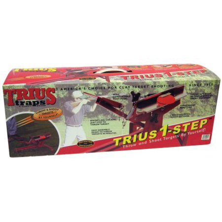 TRIUS 1-STEP PORTABLE CLAY TARGET TRAP