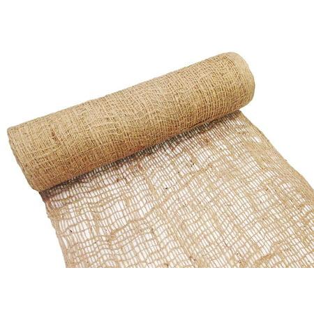 Jute Erosion Control Matting - Erosion Control Matting Blanket - Jute Mesh Blanket - Jute Netting Installation for Erosion Control - 4 ft width x 225 ft Length (1 Roll)