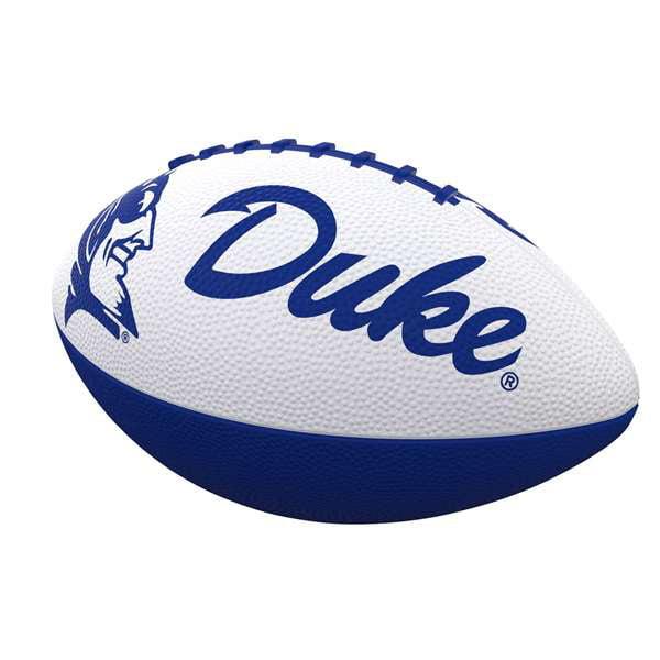 Duke Combo Logo Junior-Size Rubber Football