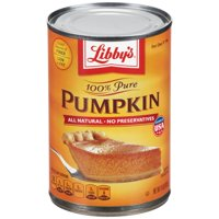 (3 Pack) Libby's 100% Pure Pumpkin, 15 oz Can