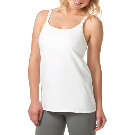 a012cfb93b Loving Moments by Leading Lady - Maternity Nursing Cami with Built-in Shelf  Bra -- Available in Plus Size - Walmart.com