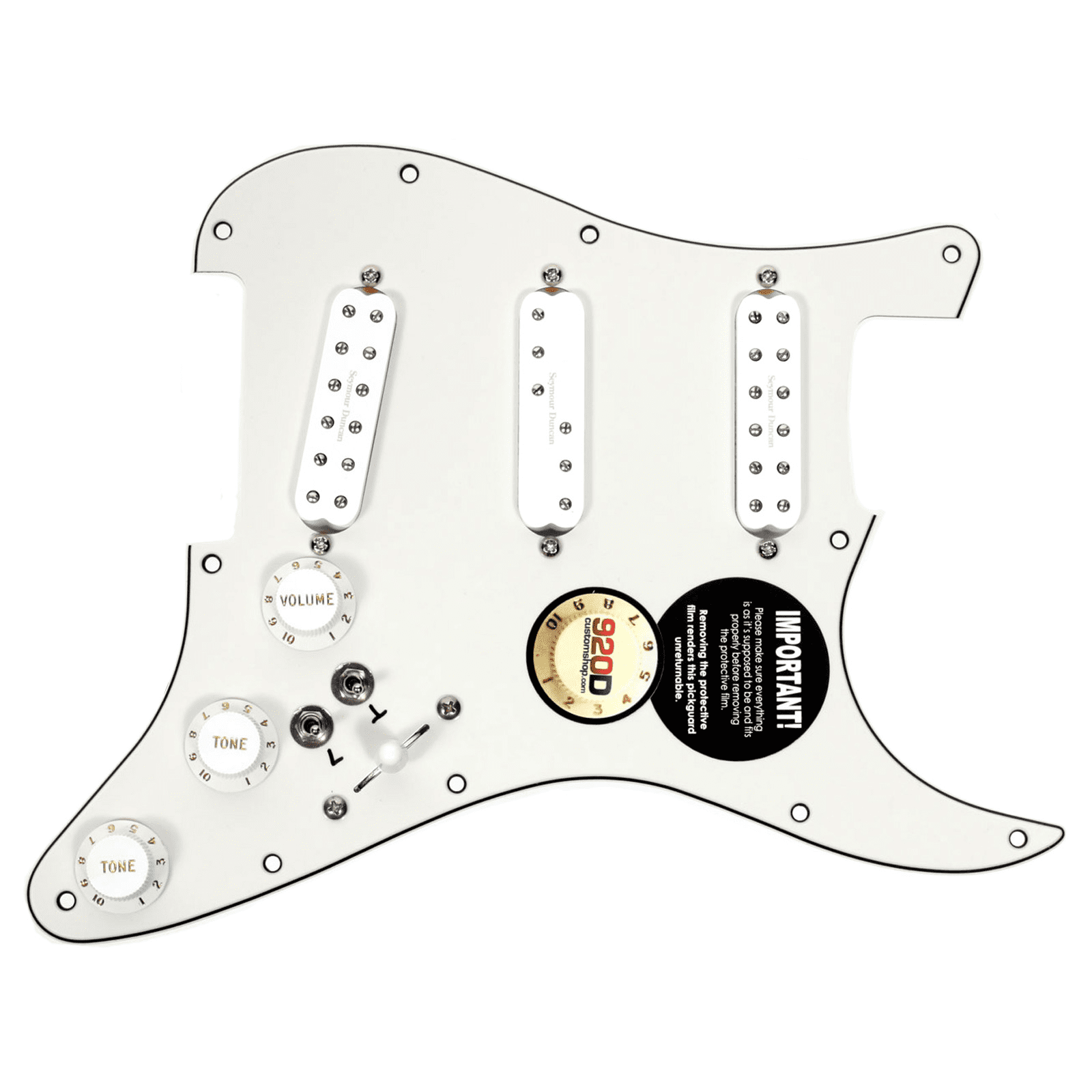 Duncan SJBJ   SDBR   SL59 Loaded Pickguard Everything Axe W  2 Toggles PA WH by