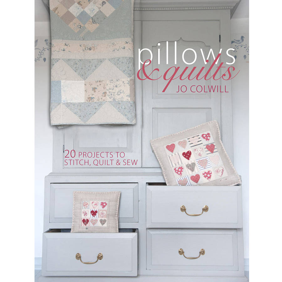 F&W Media David & Charles Books-Pillows & Quilts