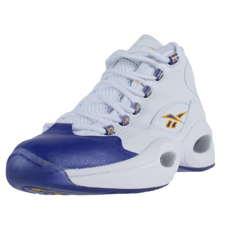 ed27d07bd99 Reebok - REEBOK X PACKER SHOES QUESTION MID FOR PLAYER USE ONLY KB8 WHITE  V53581 PROMO - Walmart.com