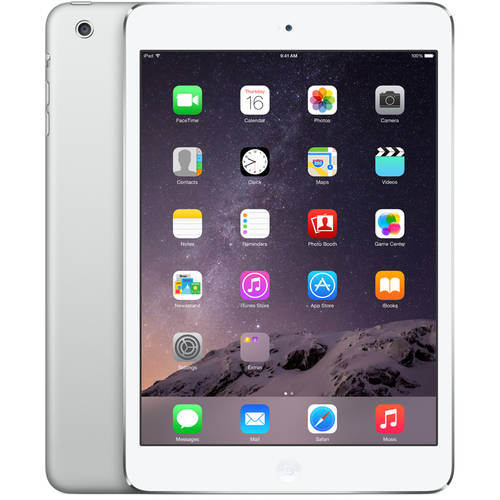 Apple iPad mini 64GB Wi-Fi Refurbished, Silver