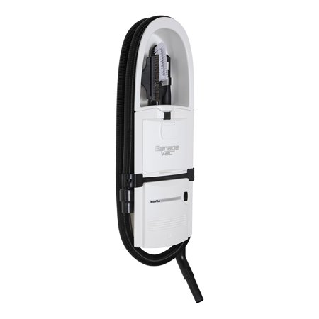 Garagevac Gf 120 W White In Wall  Flush Mounted  Garage Vacuum