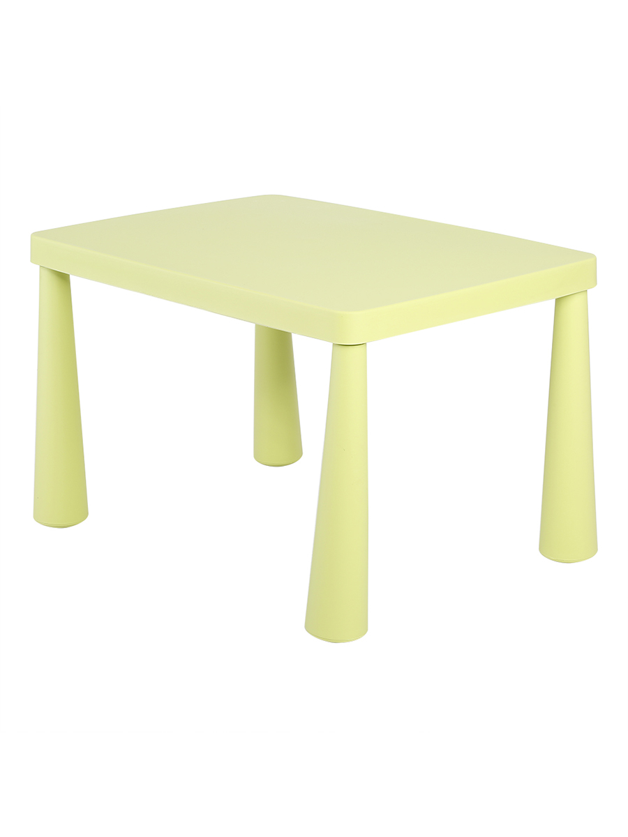 TMISHION Kid Play Table,Lovely Kids Children Toddler Plastic Learn Play  Table Activity Desk School