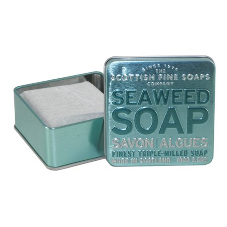 Seaweed Soap Finest Triple Milled Soap 3 5 Oz   100G Tin