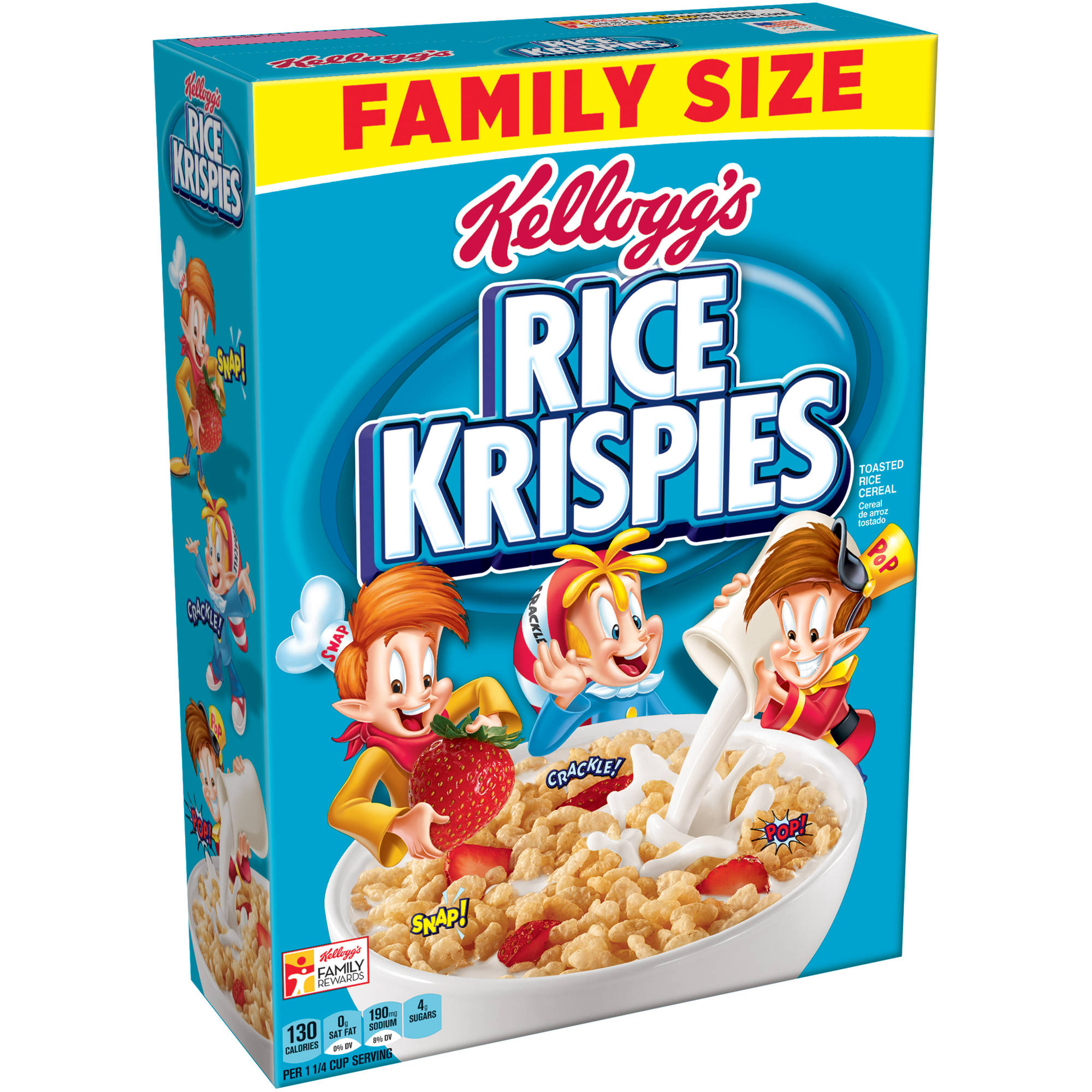 Kellogg's Rice Krispies Cereal Family Size, 24 ounce