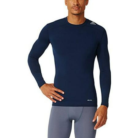 - Adidas 2015 Techfit Base Mens Long Sleeve Training Shirt 2XL Navy