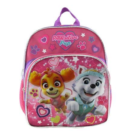 Mini Backpack - Paw Patrol - Pink Skye Everest Heart 10