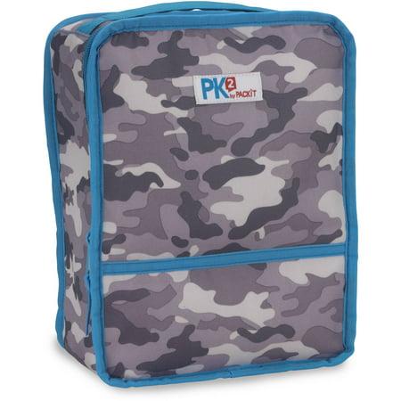 packit lunch box camo gray walmart com