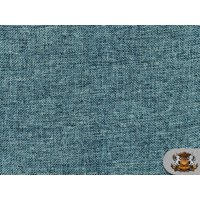"""Polyester Vintage Linen Look SEAFOAM Fabric / 60"""" W / Sold by the yard"""