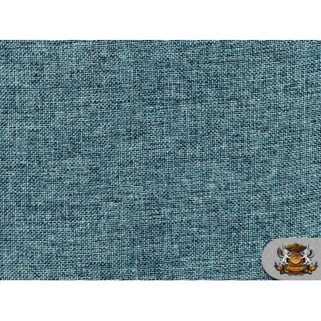 - Polyester Vintage Linen Look SEAFOAM Fabric / 60